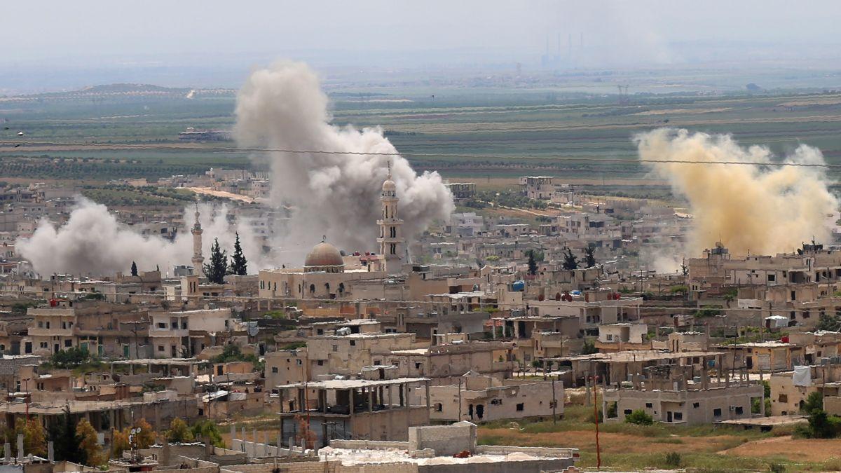 ΗΠΑ: Καταδικάζουν τις αεροπορικές επιδρομές στην ΒΔ Συρία