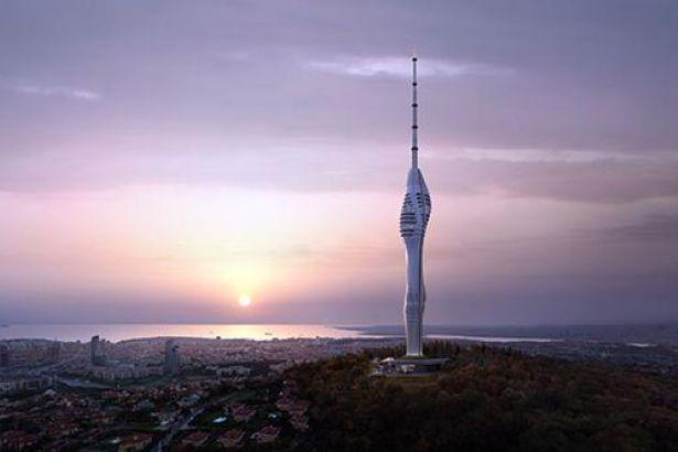 Αυτοψία Ερντογάν στις δικές του «Πυραμίδες»: Ο πύργος του ξεπερνά κατά 50μ. τον Πύργο του Άϊφελ...