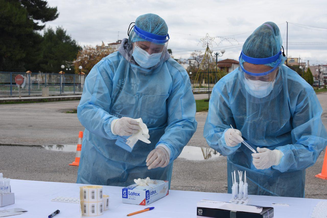 Κορονοϊός : 1 θετικό στα 180 Rapid τεστ σε Αλίαρτο,Μαυρομμάτι και Άσκρη